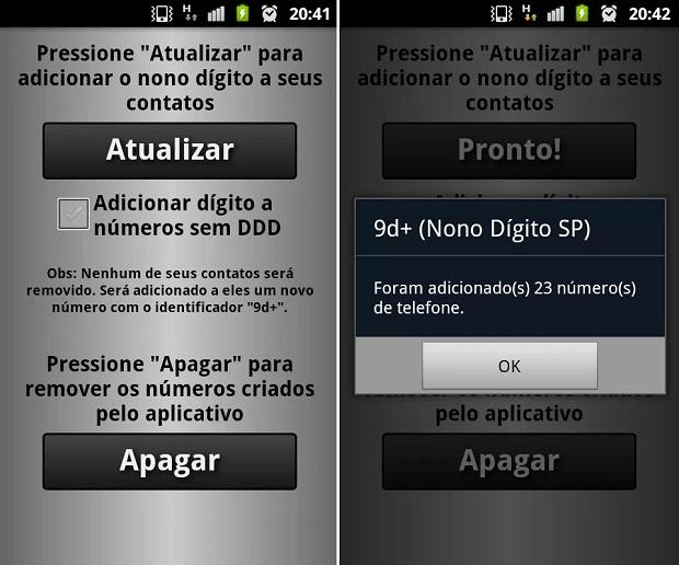 App para Android tem um visual mais dark (Foto: Divulgação)