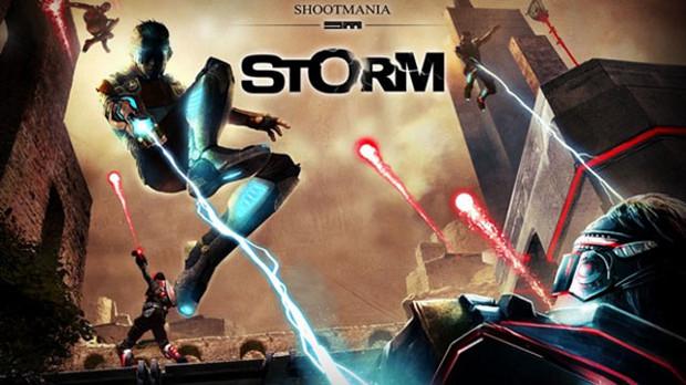 Armas a lazer e muita diversão em Shootmania Storm (Foto: Divulgação)