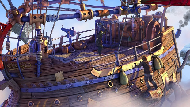 Os jogos modernos de aventura sempre parecem ter um design de ambientes caprichado (Foto: Divulgação)