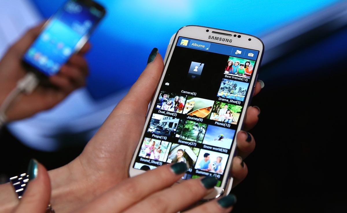 Galaxy S4 (Foto: AFP)