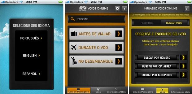 Use o Infraero Voos Online e informe-se antes de viajar (Foto: Divulgação)