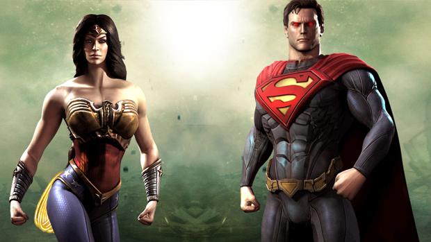 Injustice traz lutas entre heróis e vilões clássicos. (Foto: Divulgação)