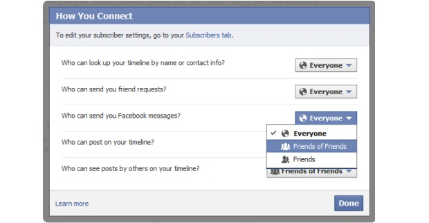Usuários não poderão mais definir quem pode procurar por eles (Foto: Reprodução/TechCrunch)