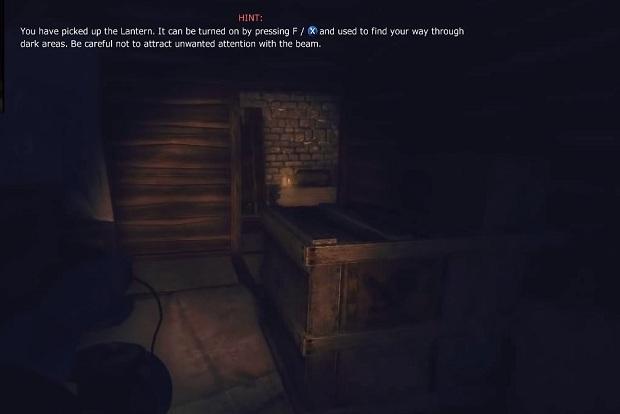 Suba até o sótão para pegar a lanterna, sua eterna companheira em Amnesia (Foto: Reprodução / Techtudo)