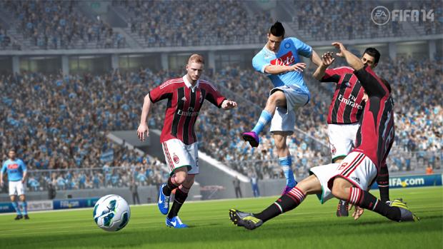 Atualização irá reequilibrar a mecânica de Fifa 14 no Xbox 360 (Foto: Divulgação)