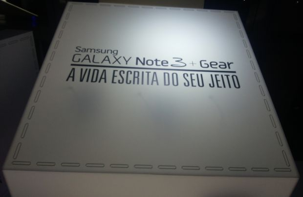 Evento de lançamento do Galaxy Note 3 e do Galaxy Gear (Foto: Pedro Zambarda/TechTudo)