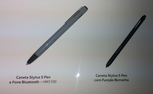 Opções de caneta stylus para o Galaxy Note 3 (Foto: Pedro Zambarda/TechTudo)