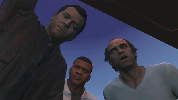 Amarrado em um porta-malas, Devin percebe que se meteu com os caras errados (Foto: IGN / Reprodução)