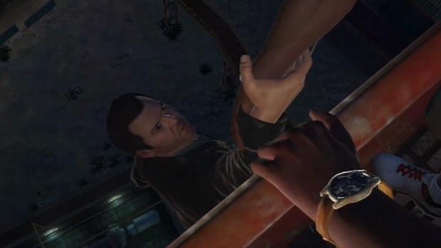 No Final B vemos a queda de Michael independente da sua escolha final (Foto: IGN / Reprodução)