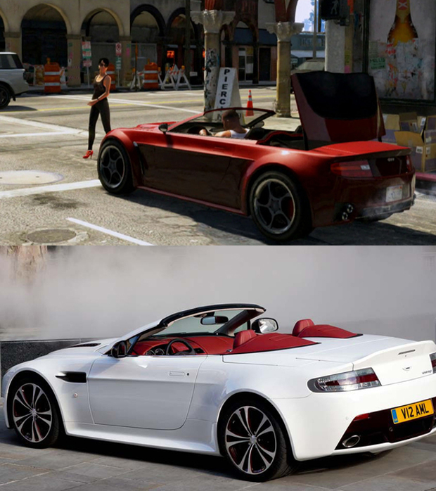 Grotti Carbonizzare vs. Aston Martin V8 Vantage Roadster (Foto: Tech Radar)