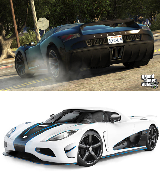 Grotti Cheetah vs. Koenigsegg Agera R (Foto: Tech Radar)