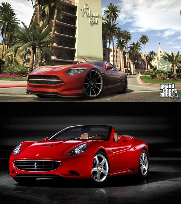 Hijak Khamelion vs. Ferrari California (Foto: Tech Radar)