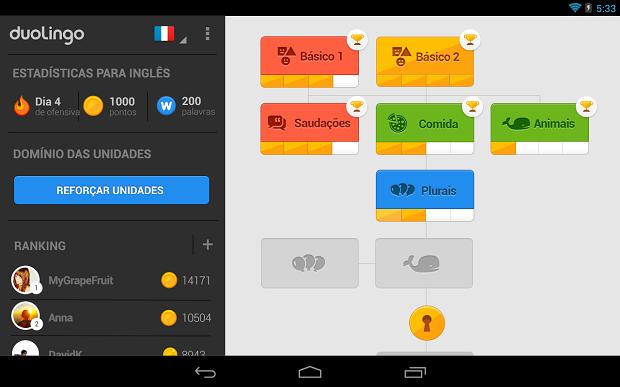 Duolingo é ótimo para estudar inglês (Foto: Divulgação)