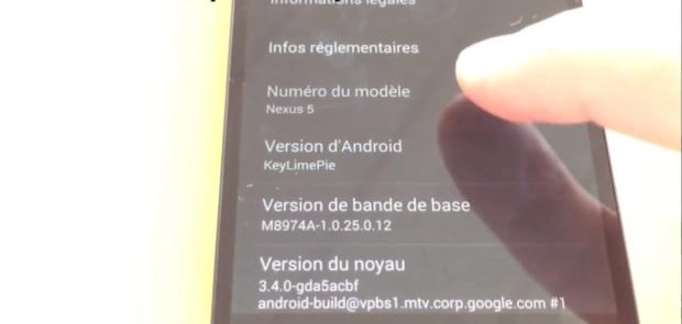 Novo Android e novo Nexus aparecem em vídeo no YouTube (Foto: Reprodução/YouTube)