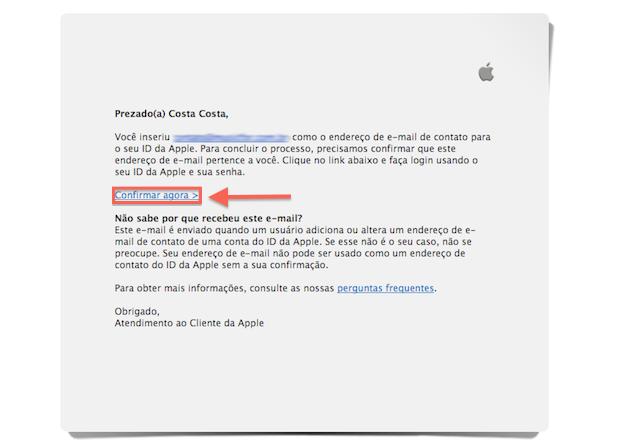 Confirmando a criação de uma Apple ID (Foto: Reprodução/Marvin Costa)