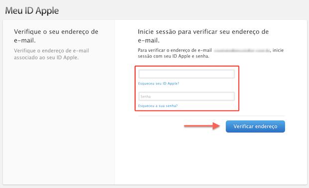 Confirmando a criação da Apple ID (Foto: Reprodução/Marvin Costa)