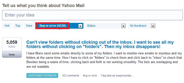 Queixas já contabilizam quase 5 mil usuários insatisfeitos (Foto: Reprodução: Yahoo)