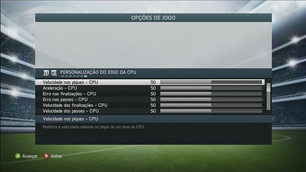Torne a disputa mais divertida em FIFA 14 (Foto: Reprodução/Murilo Molina)