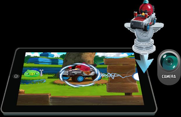 Angry Birds Go! também permitirá carregar seu Telepod para dentro do game. (Foto: Divulgação)