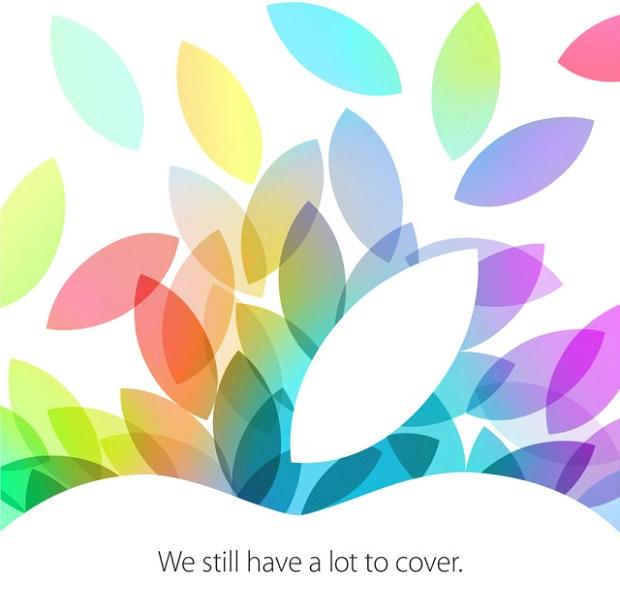 Convite enviado pela Apple nesta terça-feira (15) para lançamentos de iPads (Foto: Divulgação/Apple)
