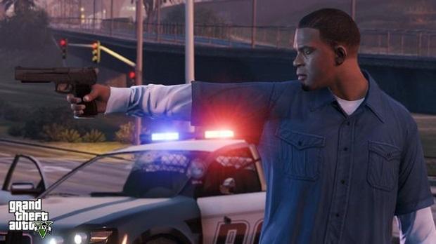 Polícia pode ser bem incômoda no GTA V (Foto: Divulgação)