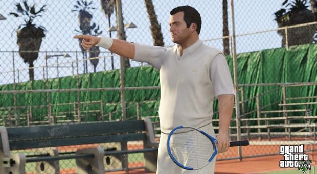 Tênis no GTA é bem divertido (Foto: Divulgação)