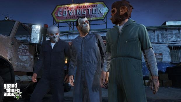 GTA V tem três personagens principais (Foto: Divulgação)