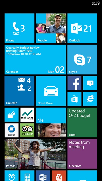 Update 3 para Windows Phone 8 chega com suporte para telas maiores e de alta resolução.(Foto: Divulgação / Microsoft Blog)