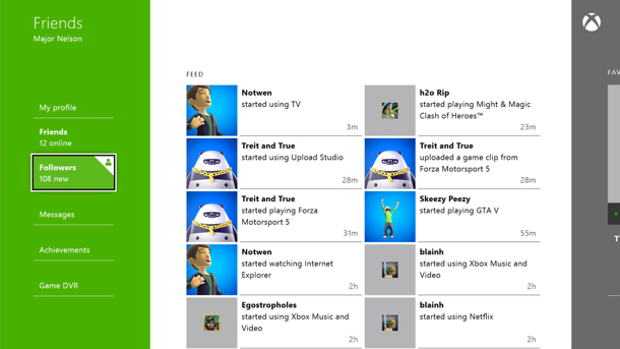 Xbox One: conheça as novas funcionalidades da Friend List Xbox-one-friend-list