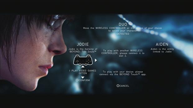Conecte o seu gadget ao PS3 e curta a nova aventura da Quantic Dream com um amigo (Foto: Reprodução/Murilo Molina)