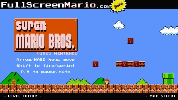 Full Screen Mario reproduz todo o jogo original em detalhes e traz extras (Foto: How-to Geek)