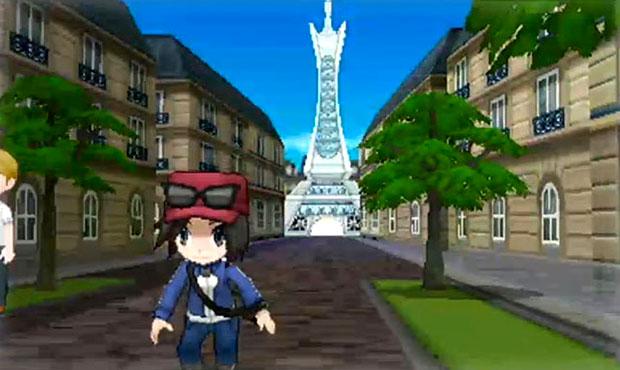 A Torre Eiffell do mundo de Pokémon (Foto: Divulgação) (Foto: A Torre Eiffell do mundo de Pokémon (Foto: Divulgação))
