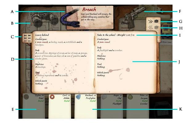 A interface do inventário (Foto: Reprodução/Daniel Ribeiro)
