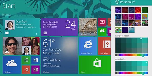 Atualização do Windows 8.1 Preview para versão final deve ser feito até janeiro do ano que vem (Foto: Divulgação)