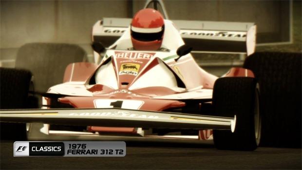 F1 2013 tem Edição Clássica nas lojas brasileiras (Foto: Divulgação)