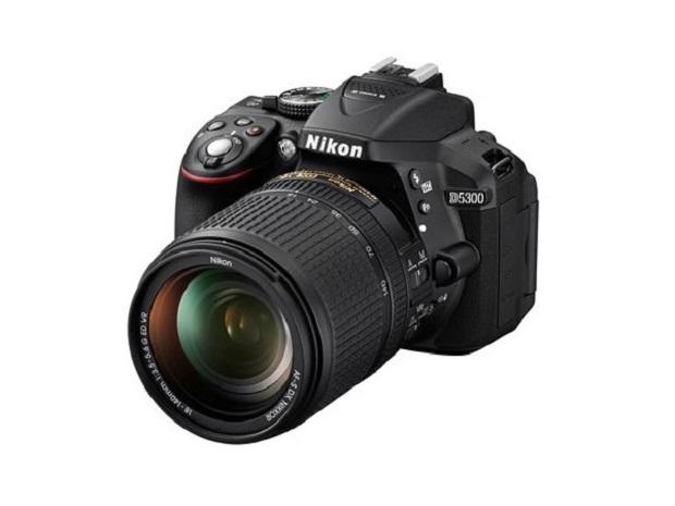 Nikon lança a D5300, primeira DSRL da marca a contar com Wi-Fi embutido (Foto: Divulgação/Nikon)