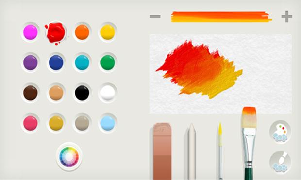 Novo Paint traz suporte para aquarela (Foto: Reprodução/The Verge)
