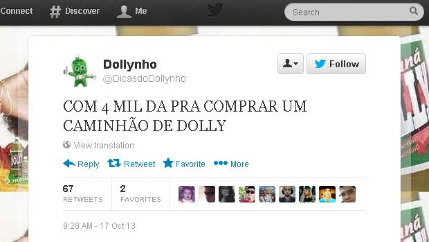 @DicasdoDollynho (Foto: Reprodução)
