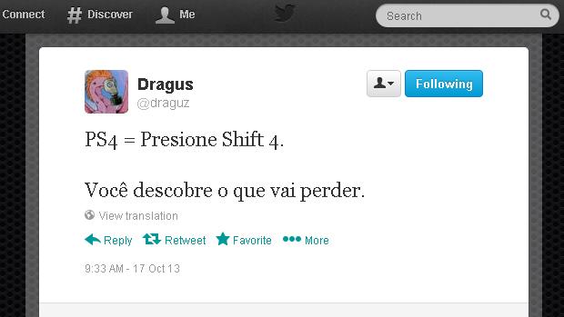 @draguz (Foto: Reprodução)