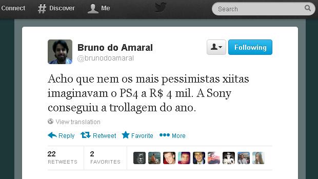 @brunodoamaral (Foto: Reprodução)