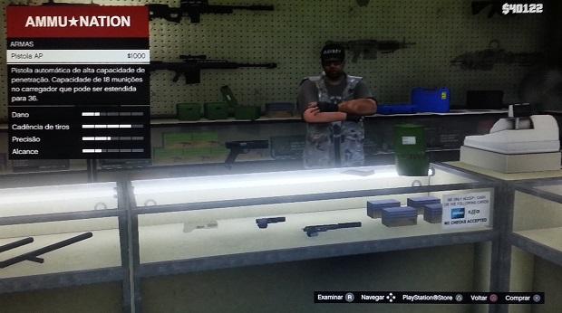Pistola pode ser boa em algumas ocasiões (Foto: Reprodução/Thiago Barros)