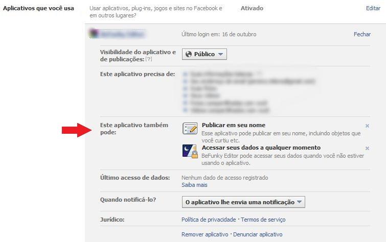Deixe seus aplicativos no Facebook invisíveis para seus amigos. (Foto: Reprodução)