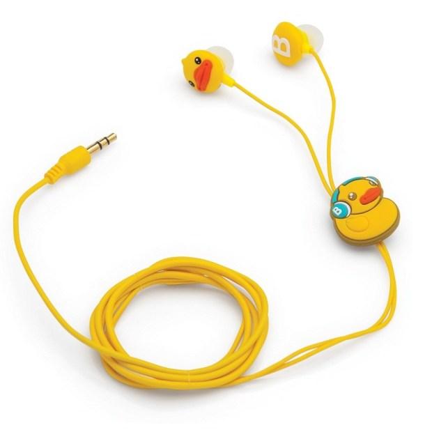 Fone de ouvido BDuck é ideal para quem gosta de um estilo mais fofo ou quer presentear crianças (Foto: Reprodução/O Segredo do Vitório)