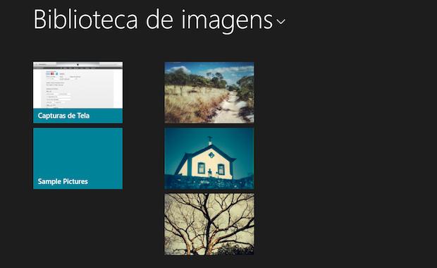 Escolhendo uma foto para editar no Windows 8.1. (Foto: Reprodução/Marvin Costa)