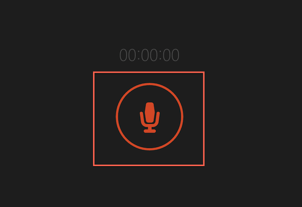 """Iniciando uma gravação no aplicativo """"Gravador de som"""" do Windows 8.1 (Foto: Reprodução/Marvin Costa)"""
