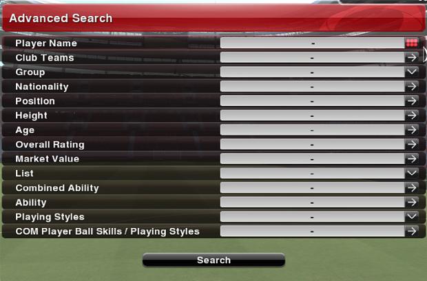 Use a Busca Avançada para achar jogadores (Foto: Divulgação)
