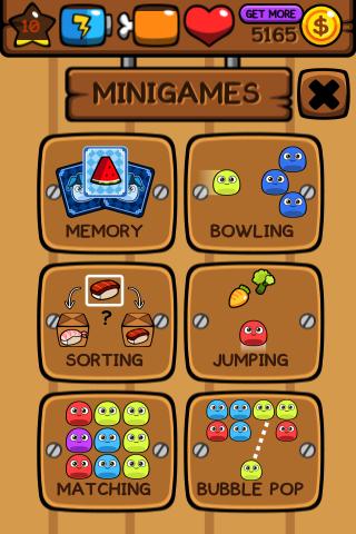 My Boo traz 6 mini-games para você brincar com seu bichinho. (Foto: Techtudo)