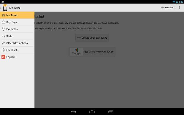 NFC Task Launcher torna uso do celular mais prático (Foto: Divulgação)