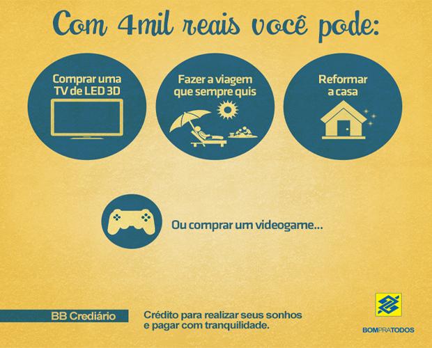 Banco do Brasil oferece crédito para comprar o PlayStation 4 (Foto: Reprodução)