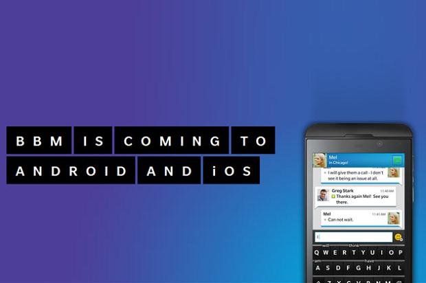 Versão oficial do Black Berry Messenger chega hoje para Android e iOS (Foto: Divulgação)